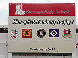 Rugby Vereine im Stadtpark Hamburg