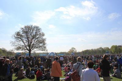 130.000 Menschen auf der Festwiese