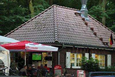 Cafe Linne im Westen des Stadtparks