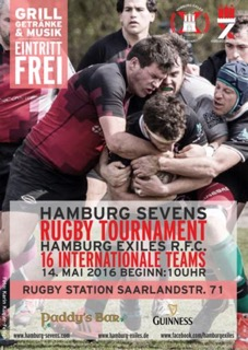 Rugby Turnier Flyer